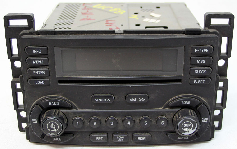 2006 Pontiac G6 Factory Stereo 6 Disc Changer Cd Player Oem Radio Rhhifisoundconnection: 2006 Pontiac G6 Factory Radio At Elf-jo.com