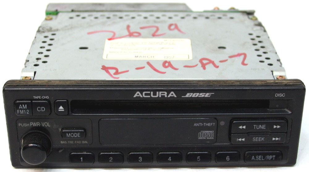 1997 1998 1999 Acura CL Factory Stereo Bose Premium Sound ...