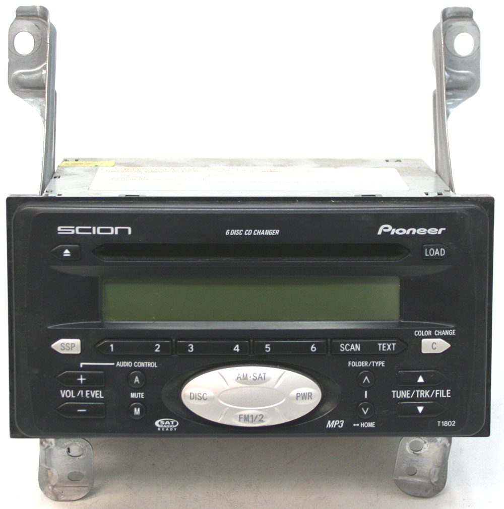 2005 2006 scion tc factory stereo 6 disc changer mp3 cd. Black Bedroom Furniture Sets. Home Design Ideas