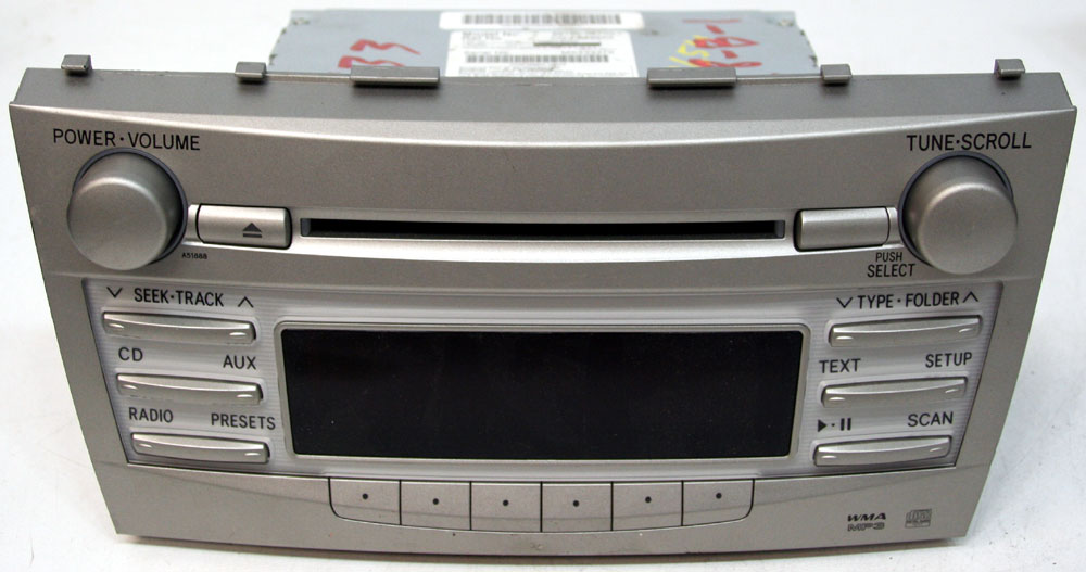 2010 2011 Toyota Camry Factory Stereo Am  Fm Cd Player Oem Radio