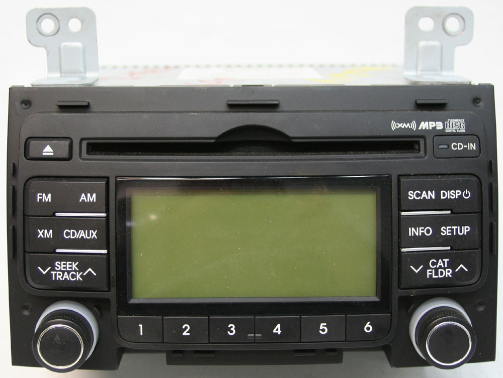 2009 2017 Hyundai Elantra Factory Stereo Xm Ready Mp3 Cd Player Oem Radio