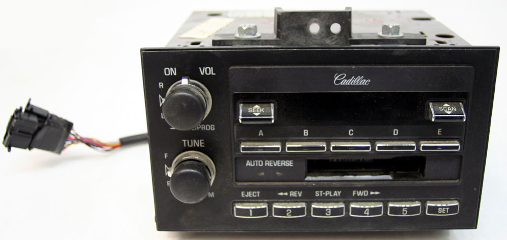 1990 1992 cadillac brougham factory tape cassette player oem radio rh hifisoundconnection com 2000 Cadillac 2000 Cadillac