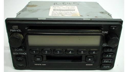 2000-2002 Toyota Echo Factory Radio Cette CD Player on