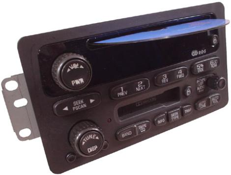 2002-2005 Chevrolet Impala Factory AM Mono FM Stereo Radio ...