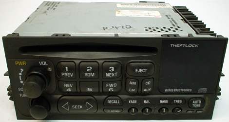 1998 2002 Chevrolet Tahoe Factory Am Mono Fm Stereo Radio Cd Player R 871 20