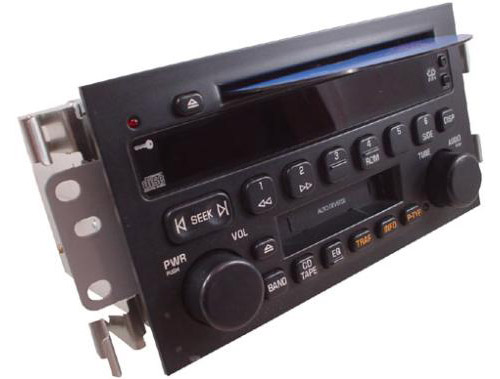 2003-2005 Buick LeSabre Factory AM Mono FM Stereo Radio Cassette CD Player