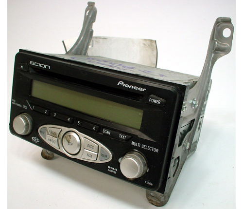 2006 2007 scion tc factory radio cd mp3 player r 942. Black Bedroom Furniture Sets. Home Design Ideas