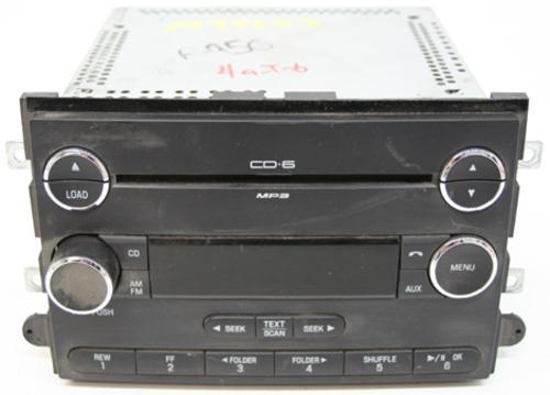 2008 2009 ford fusion factory 6 disc changer mp3 cd player. Black Bedroom Furniture Sets. Home Design Ideas
