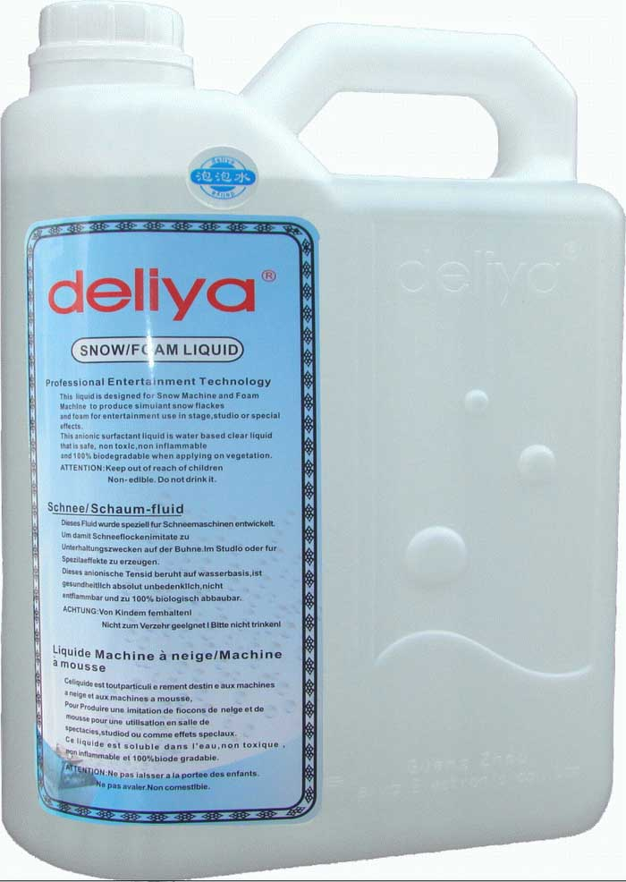 Deliya DJ Lighting Bubble Machine Fluid 1 Gallon