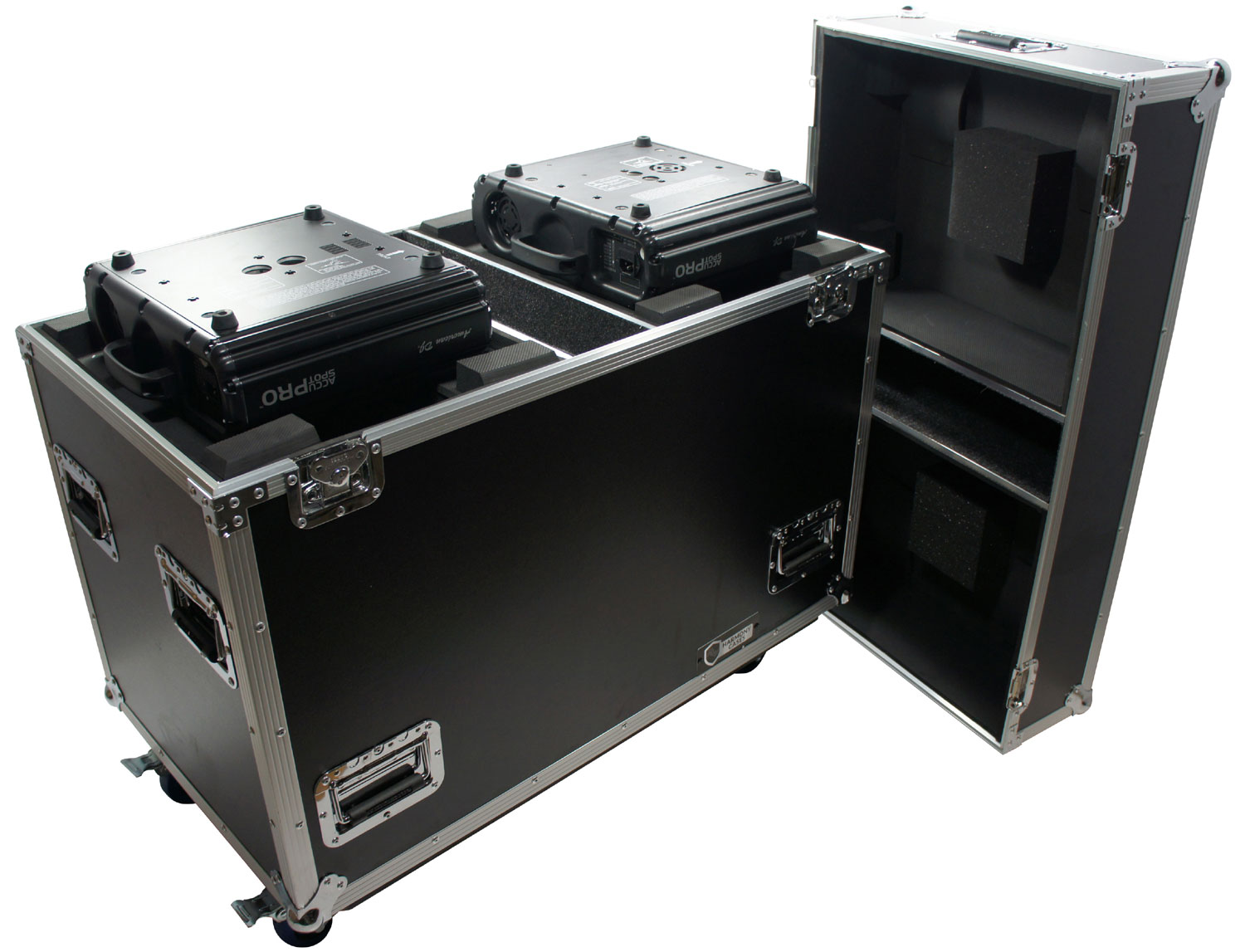 Harmony Cases HC2MH250W Universal Lighting Case for Small 250 Moving Head Light