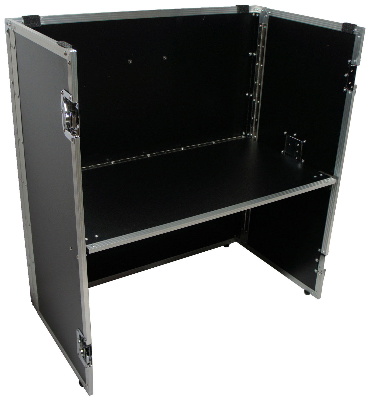 """Harmony Cases HCSTAND36 DJ 36"""" x 33"""" Fold Out Station Stand for Full Size Coffin"""
