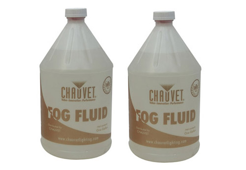 (2) Two Chauvet DJ HDF One Gallon Platinum Thick Fog Machine Smoke Fluid