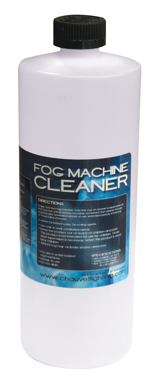 Chauvet DJ FCQ Fog Machine Cleaner Fluid Water-Based Ready-to-Use Cleaning Solution