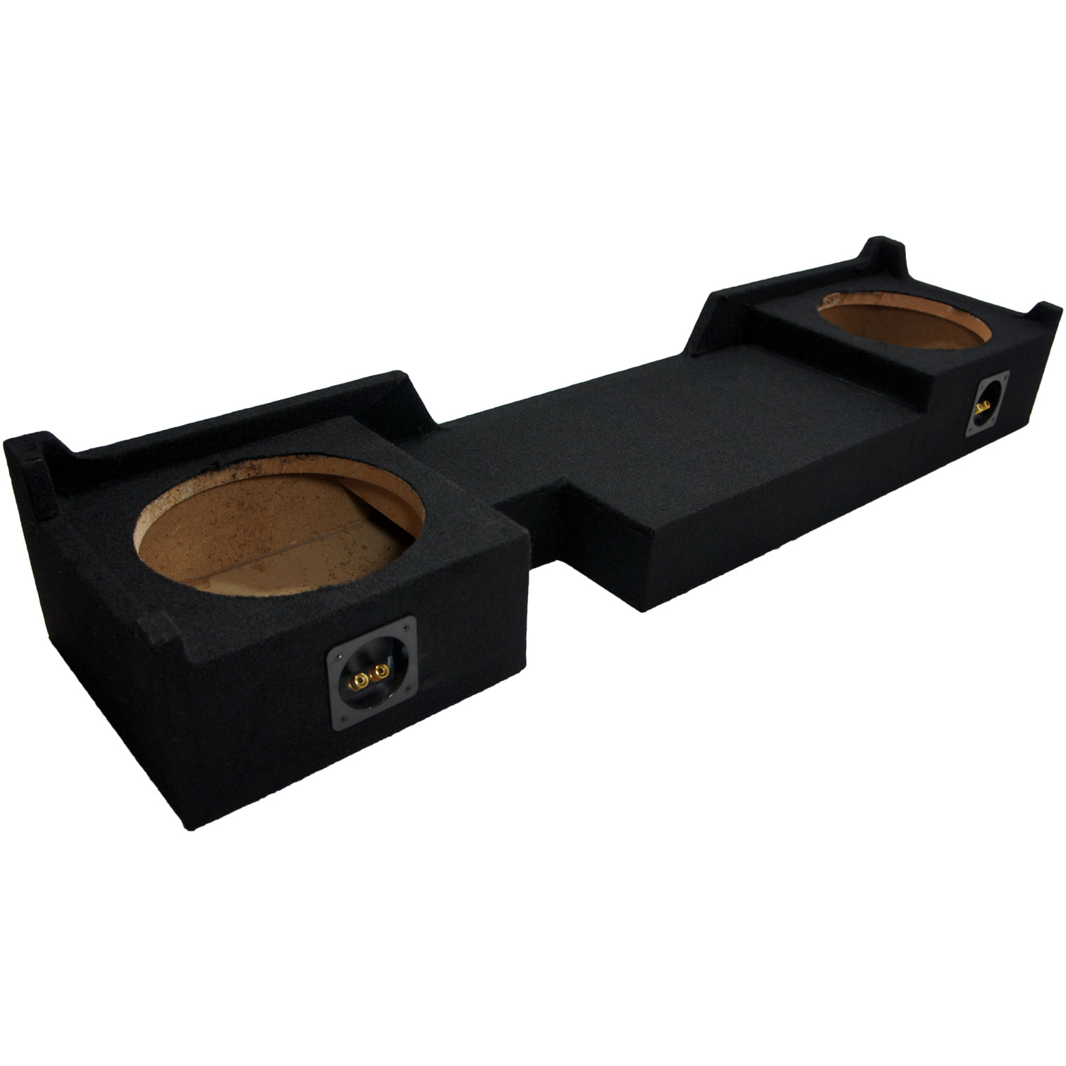 Harmony Audio HA-A102 Subwoofer Bundle with Dual 10 Sub Box Enclosure Compatible with 2004-2008 Ford F-150 Super Crew Truck 2