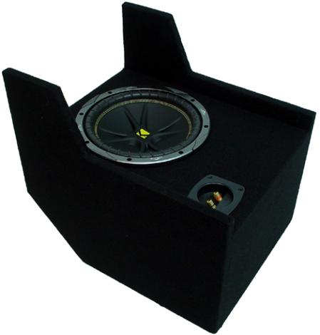 "Ford Ranger Extended Cab 10"" C10 Loaded Kicker Subwoofer Box 83-09 ZX400.1"