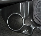 "Q Logic 05-07 Ford Mustang 6 1/2"" Custom Speaker Kick Panel"