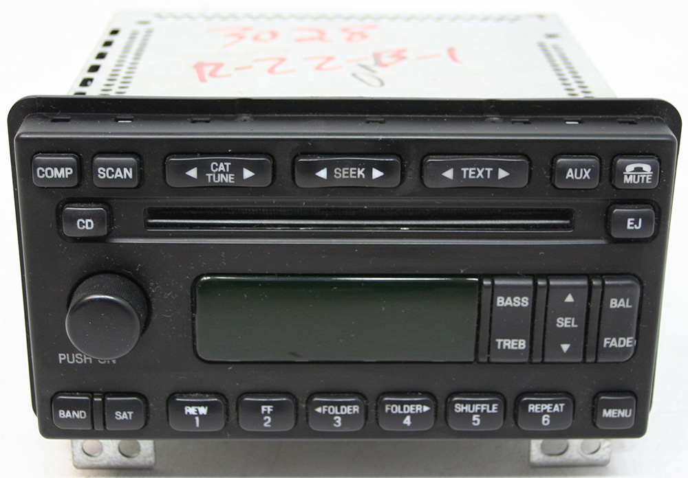 Ford Explorer 2005 Factory Am  Fm Stereo 6 Disc Changer Mp3
