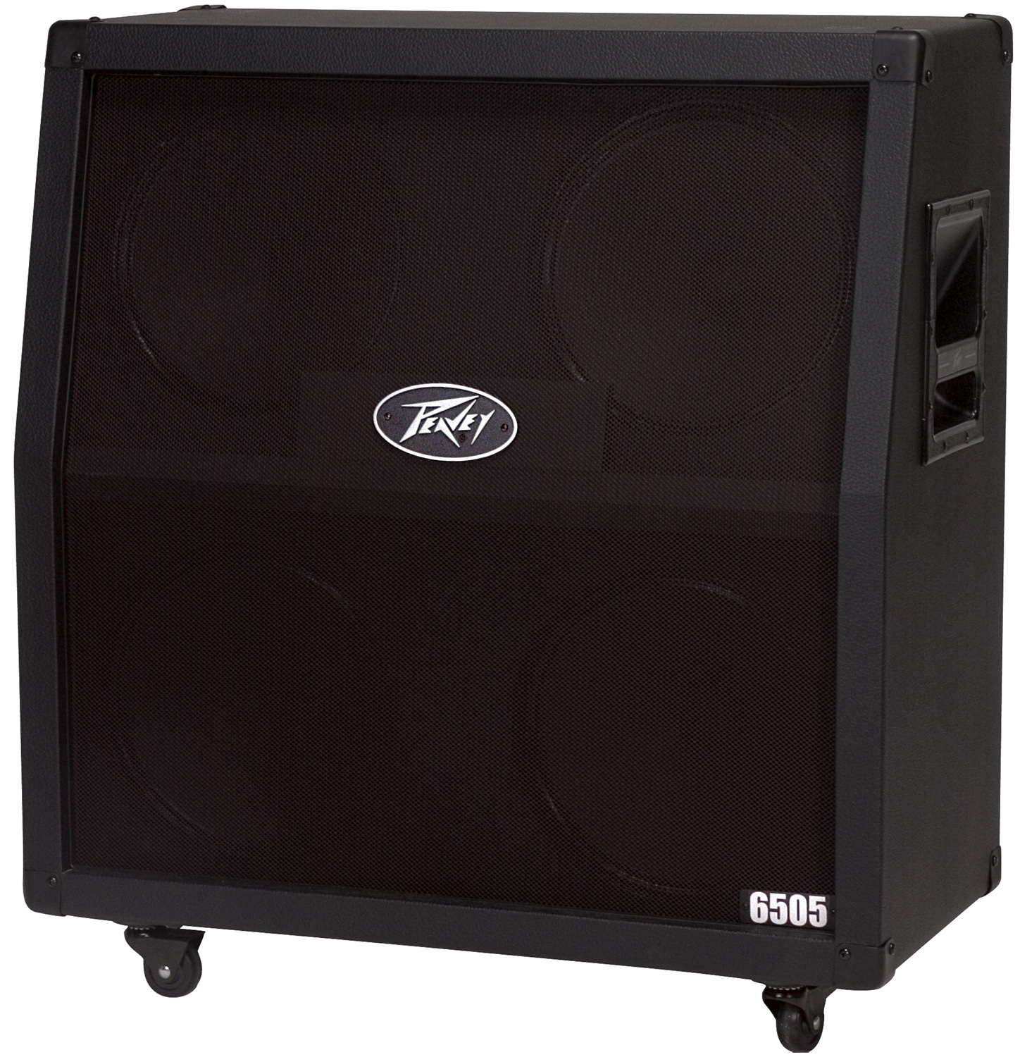 peavey 6505 412 slant cabinet 6505 plus amp head guitar package w cables ebay. Black Bedroom Furniture Sets. Home Design Ideas