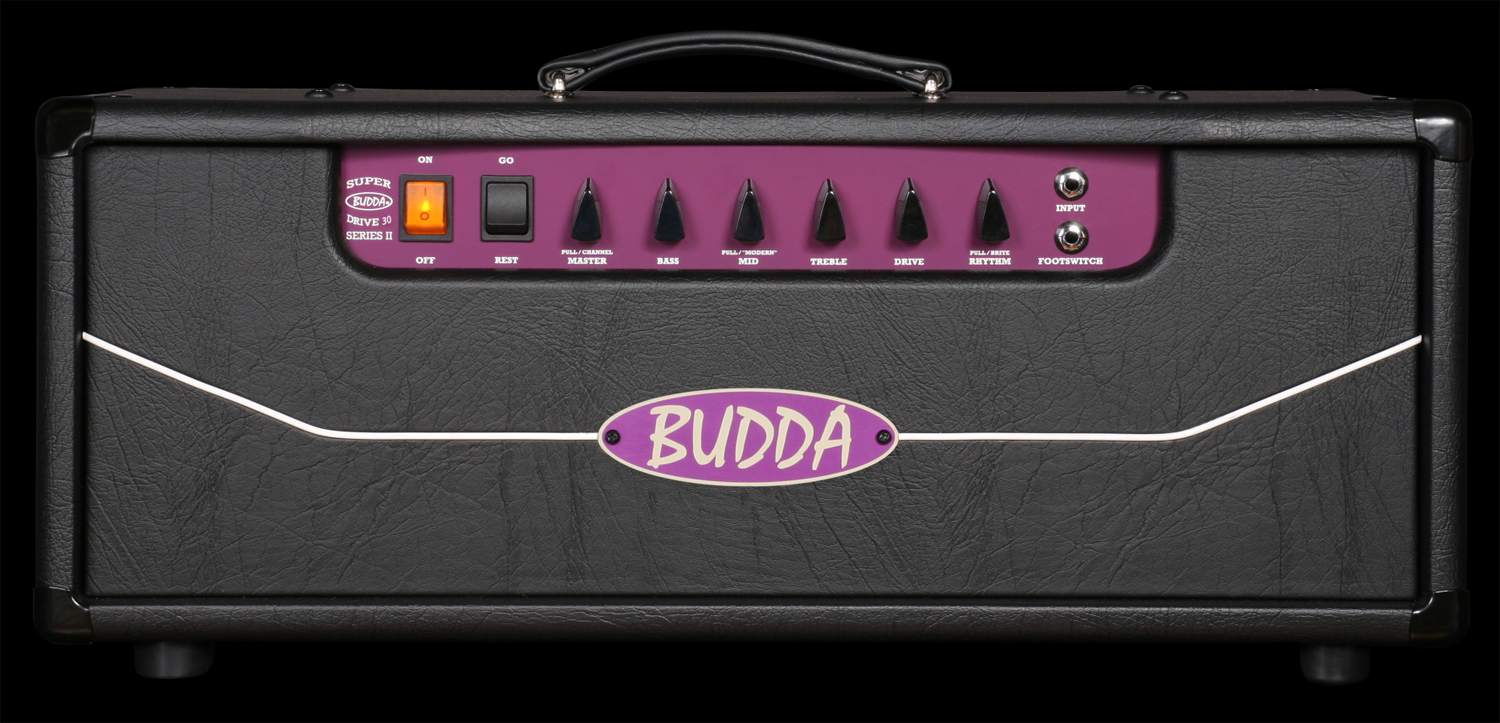 budda superdrive 30 series ii electric guitar amplifier head 30 watt tube amp bda13 brs 11100. Black Bedroom Furniture Sets. Home Design Ideas