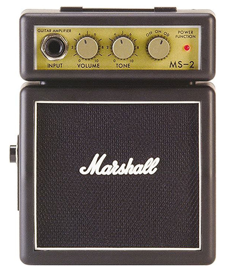 marshall m ms 2 u battery operated micro amp with speaker. Black Bedroom Furniture Sets. Home Design Ideas