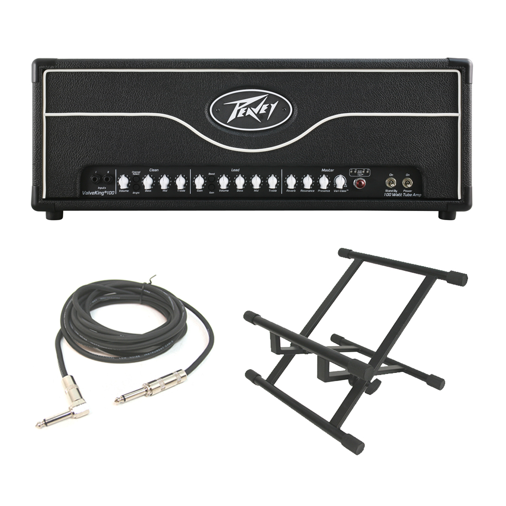 peavey valveking ii electric guitar 100w tube amplifier head 3 eq amp stand pev13 3608820 rs. Black Bedroom Furniture Sets. Home Design Ideas