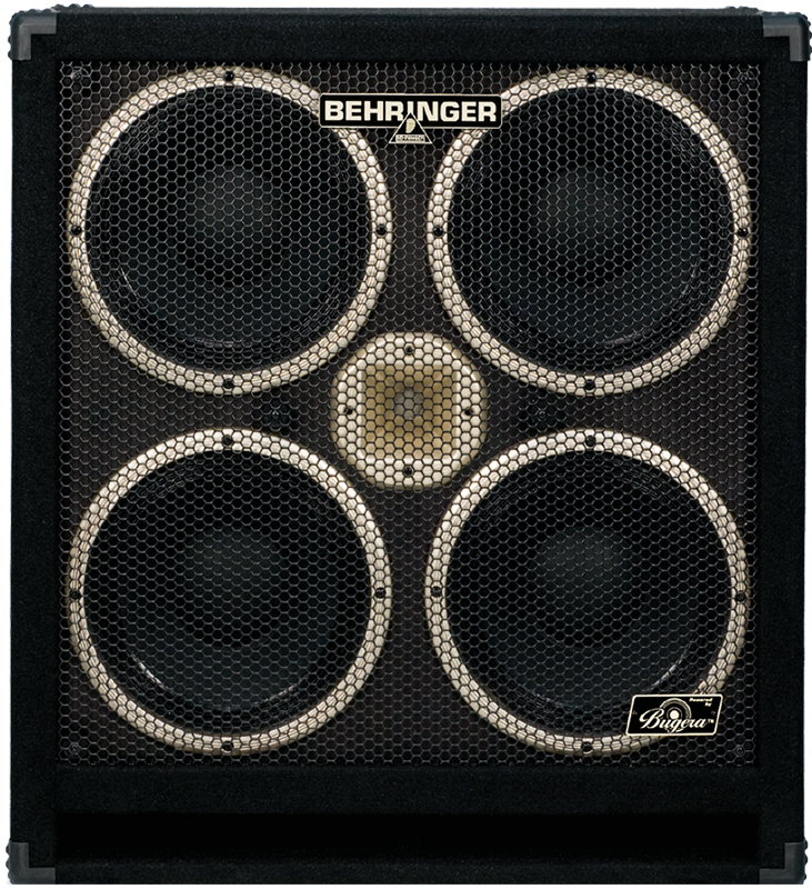 Behringer Ultrabass BB410 High-Performance 1,200-Watt Bass Cabinet ...