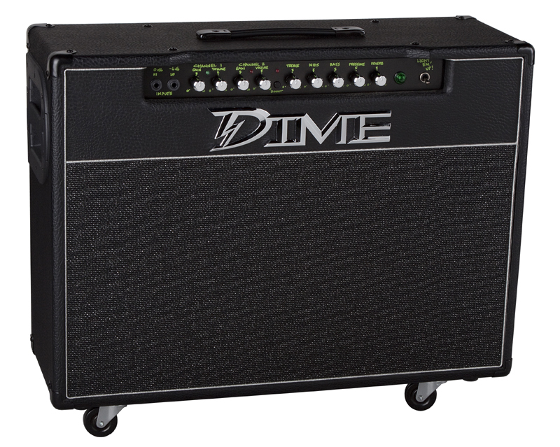 Dime Electric Guitar Amp D100C Amplification D100 Combo 120-Watt 2 x 12 Amplifier (D100 C)