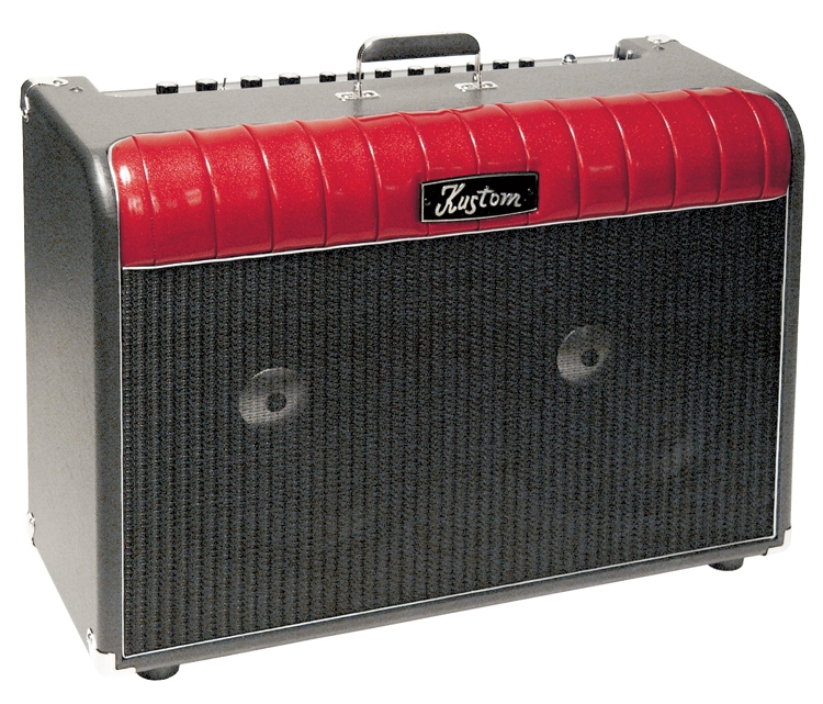kustom 72couperd coupe series 72 watts red tube amplifier with dual 2 x 12 speakers kus12. Black Bedroom Furniture Sets. Home Design Ideas
