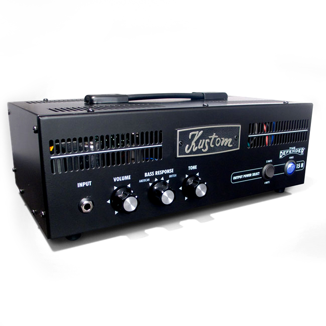 kustom defender15h defender 15 watt tube guitar amp head kus12 defender15h. Black Bedroom Furniture Sets. Home Design Ideas