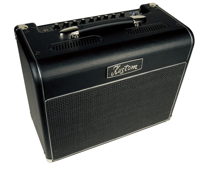 kustom hv30t high voltage 30 watt hybrid tube guitar amplifier combo with 1 x 12 speaker. Black Bedroom Furniture Sets. Home Design Ideas
