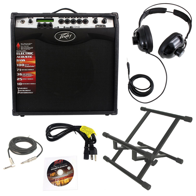 pevaey vypyr vip3 combo amp 12 modeling electric guitar 100 watt amplifier with stand 1 4. Black Bedroom Furniture Sets. Home Design Ideas