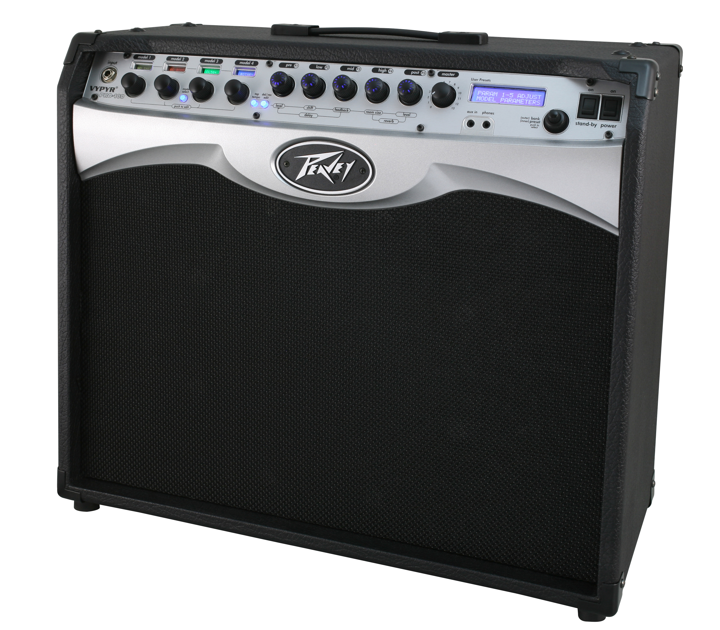 peavey vypyr pro 100 electric guitar 100w combo amp modeling effect amplifier pev14 3608100 rs. Black Bedroom Furniture Sets. Home Design Ideas