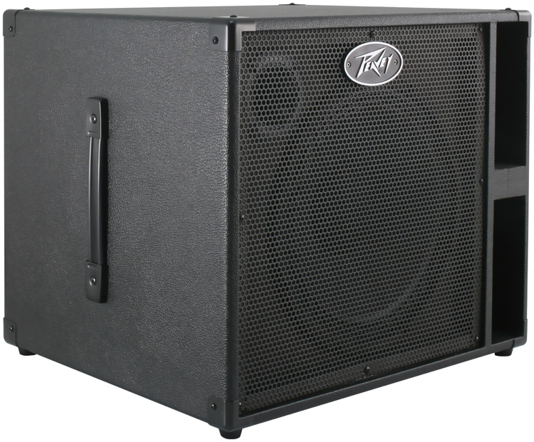 peavey headliner 112 electric bass guitar 12 speaker cabinet eminence woofer ebay. Black Bedroom Furniture Sets. Home Design Ideas
