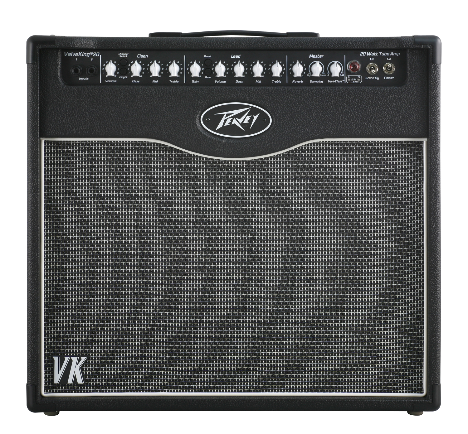 peavey valveking combo 20 electric guitar amp 20w 12 speaker mic stand cables pev16 package105. Black Bedroom Furniture Sets. Home Design Ideas