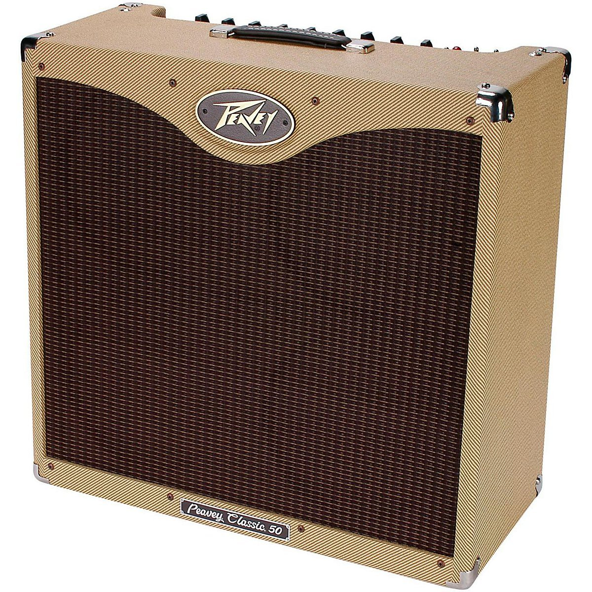 peavey classic 50 410 electric guitar combo amp 4 10 speaker mic stand cables 14367120202 ebay. Black Bedroom Furniture Sets. Home Design Ideas