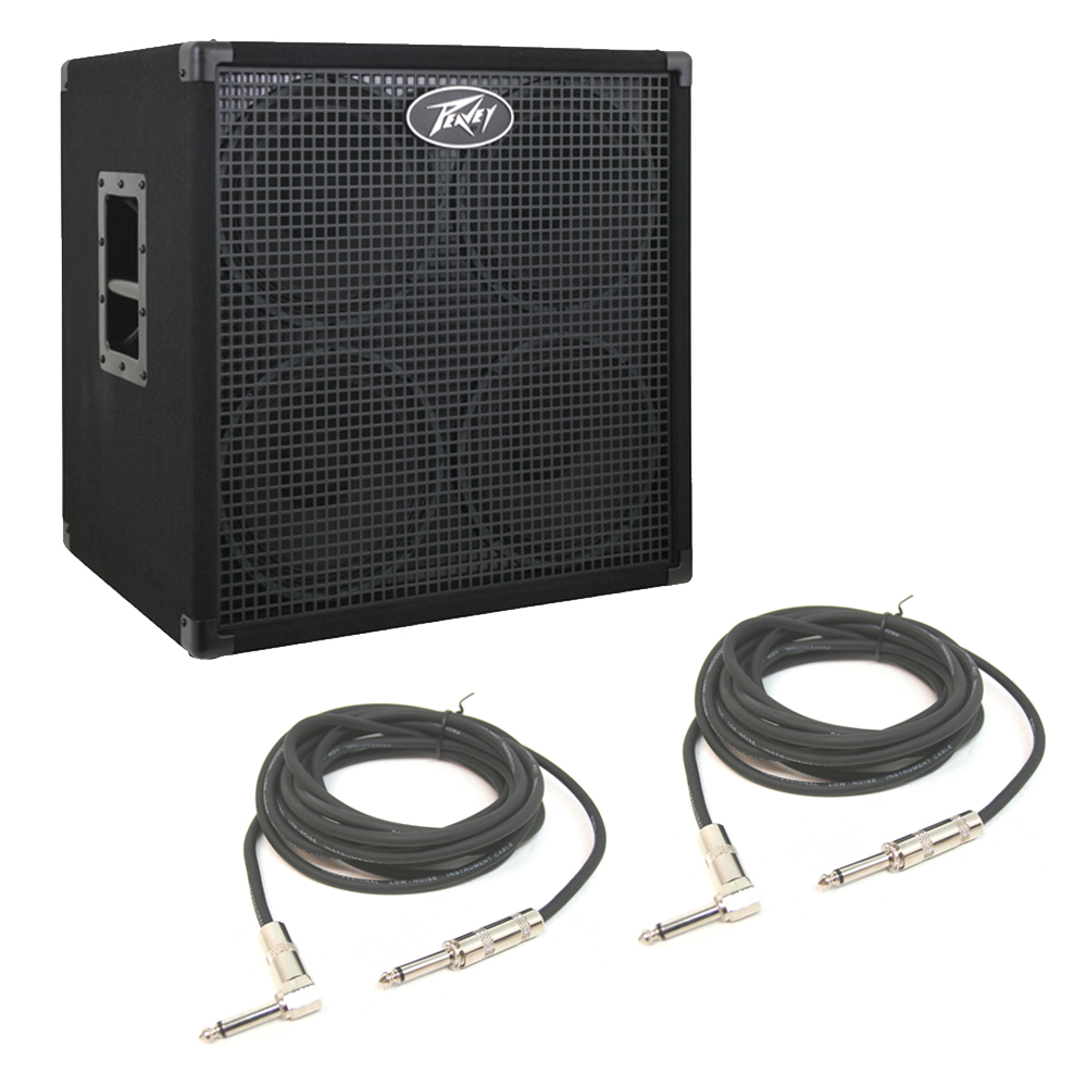 peavey headliner 410 electric bass guitar 10 speaker 1600w cabinet cables pev13 3008690 rs pack. Black Bedroom Furniture Sets. Home Design Ideas