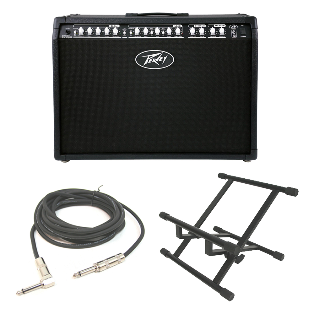 peavey special chorus 212 electric guitar 100w amp 12 amplifier stand pev13 3601610 rs pack. Black Bedroom Furniture Sets. Home Design Ideas