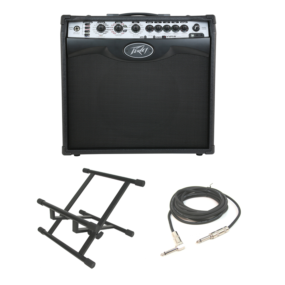 peavey vypyr vip 2 electric guitar combo 40w amp 12 modeling amplifier stand pev13 3608080. Black Bedroom Furniture Sets. Home Design Ideas