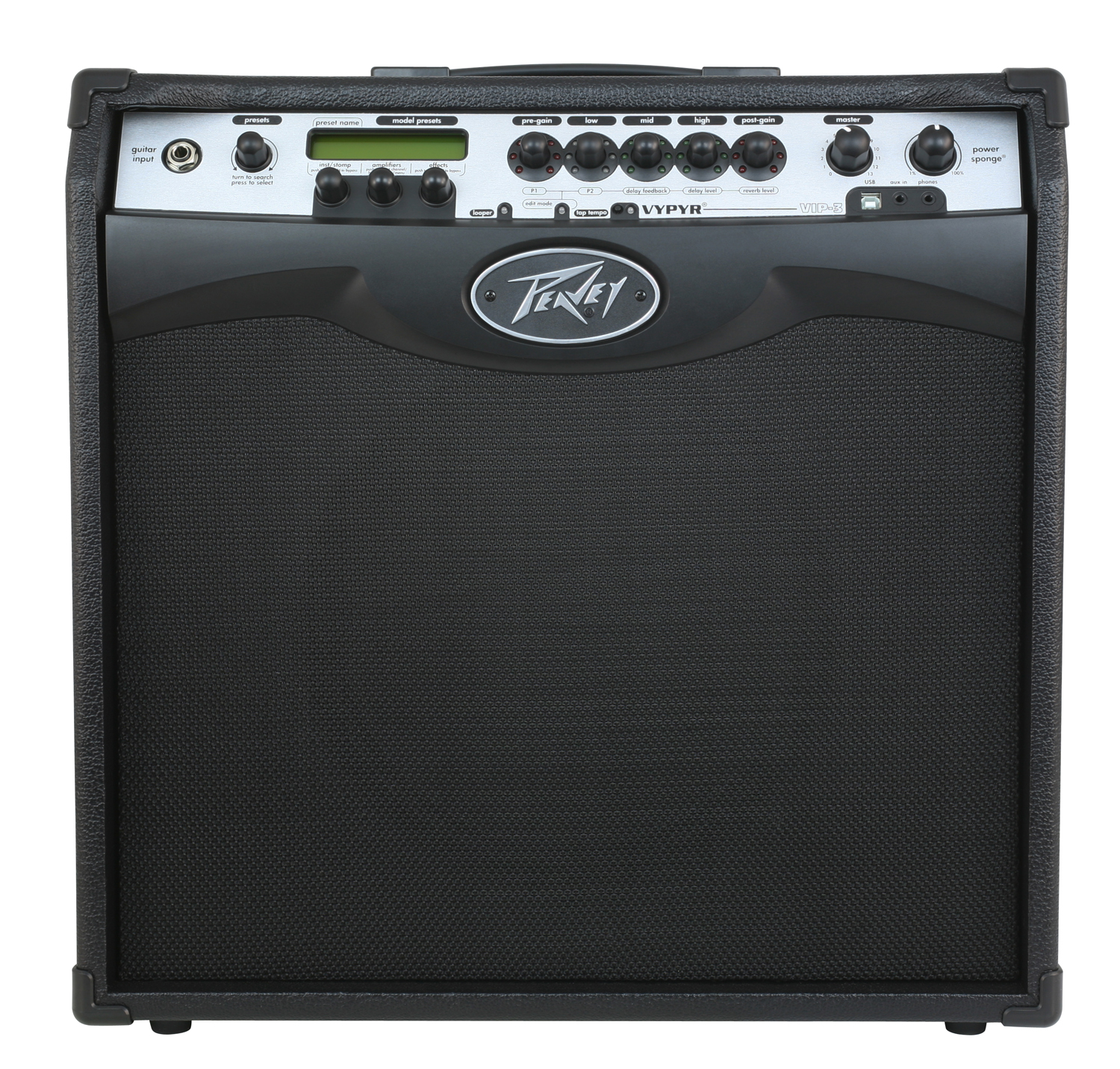 peavey vypyr vip 3 electric guitar combo 100w amp 12 speaker modeling amplifier pev13 3608160 rs. Black Bedroom Furniture Sets. Home Design Ideas