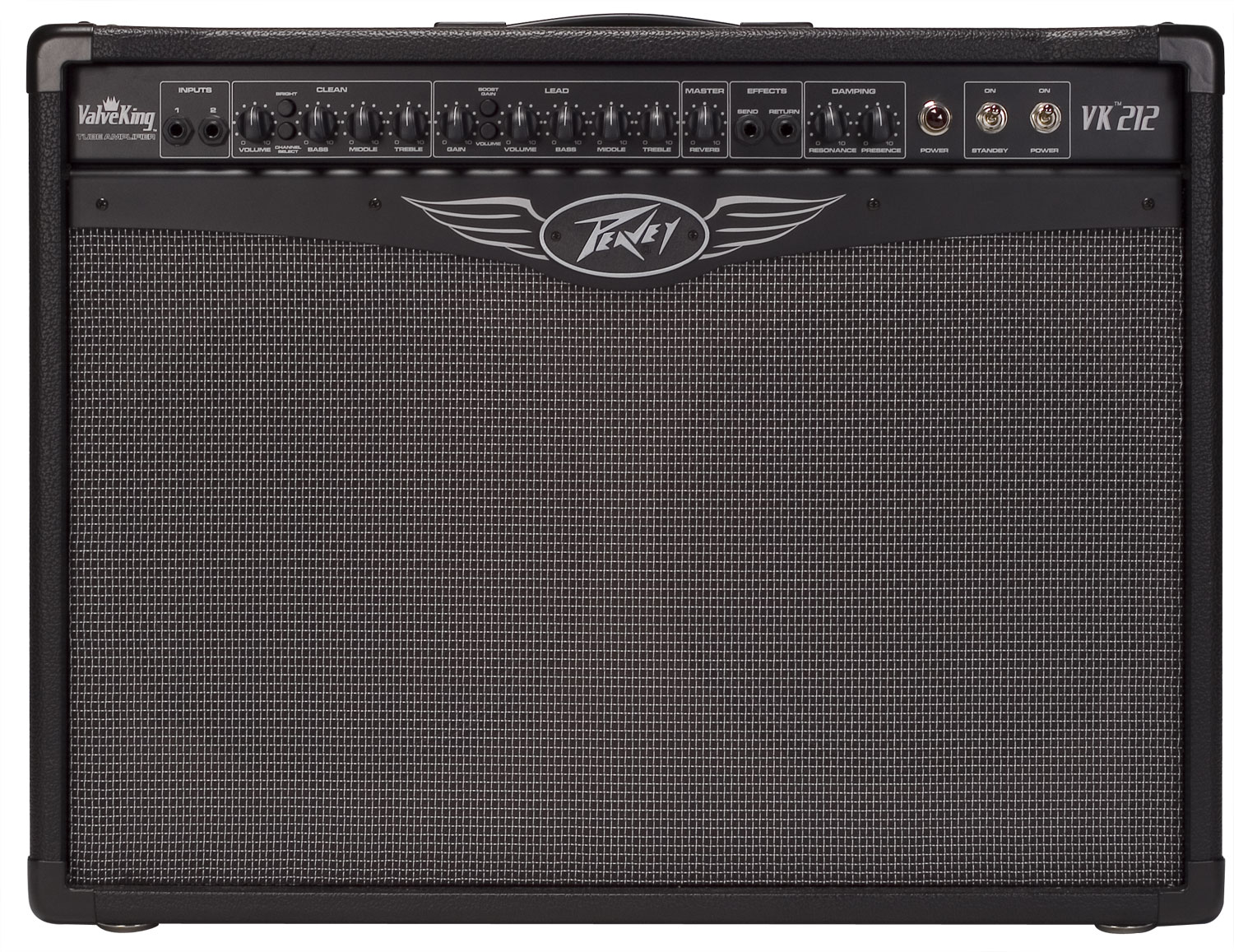 peavey valveking 212 guitar amplifier with footswitch separate eq pev13 575650 rs. Black Bedroom Furniture Sets. Home Design Ideas