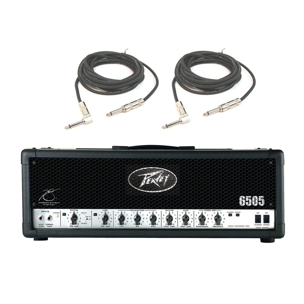peavey 6505 electric guitar metal 120w amplifier speaker tube amp head cables pev13 575660. Black Bedroom Furniture Sets. Home Design Ideas