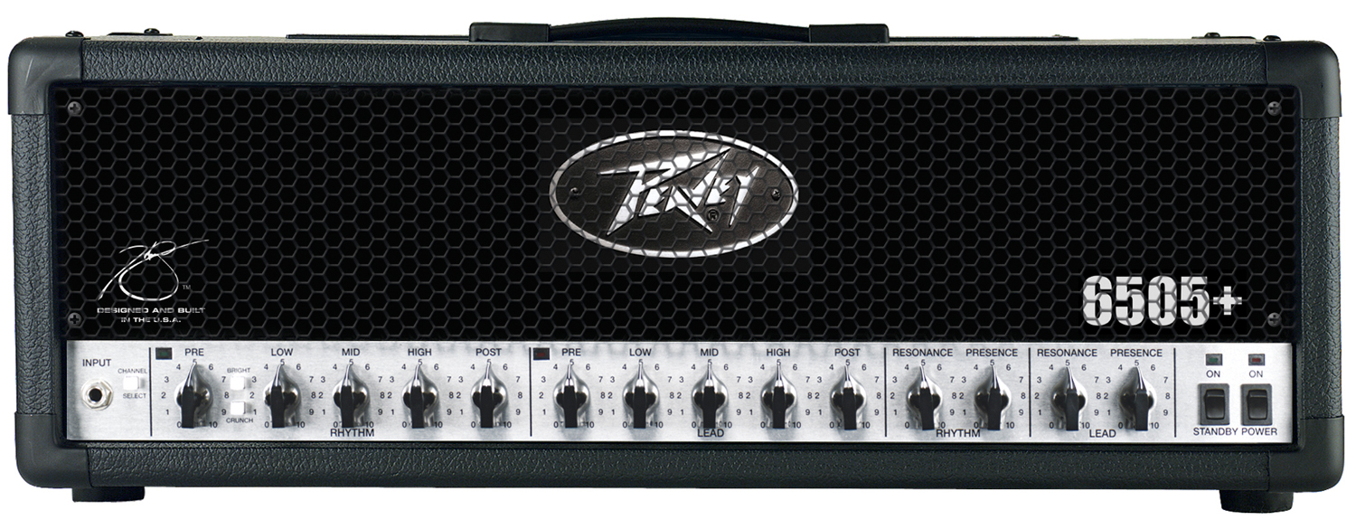 Peavey 6505 Plus Guitar Amplifier with Three-Band Equalizer 120 Watts