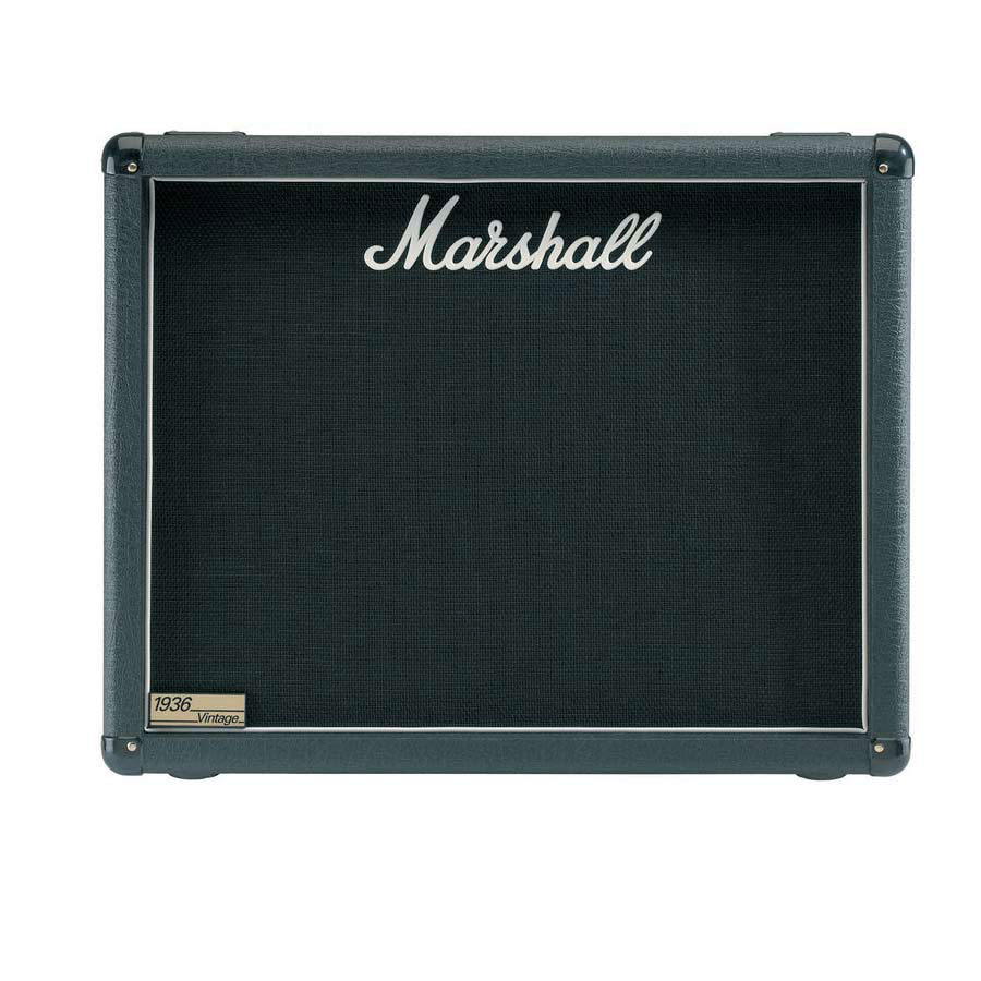 marshall m 1936 e base type guitar speaker cabinet with 2 x 12 g12t 75 speakers 150 watt fits. Black Bedroom Furniture Sets. Home Design Ideas