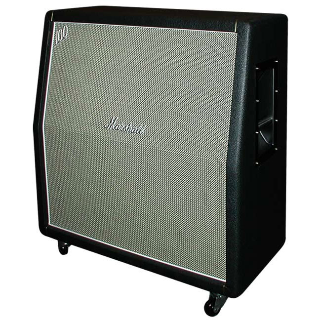 marshall m 1960ahw u handwired angled guitar speaker cabinet with custom grille cloth 4 x 12. Black Bedroom Furniture Sets. Home Design Ideas