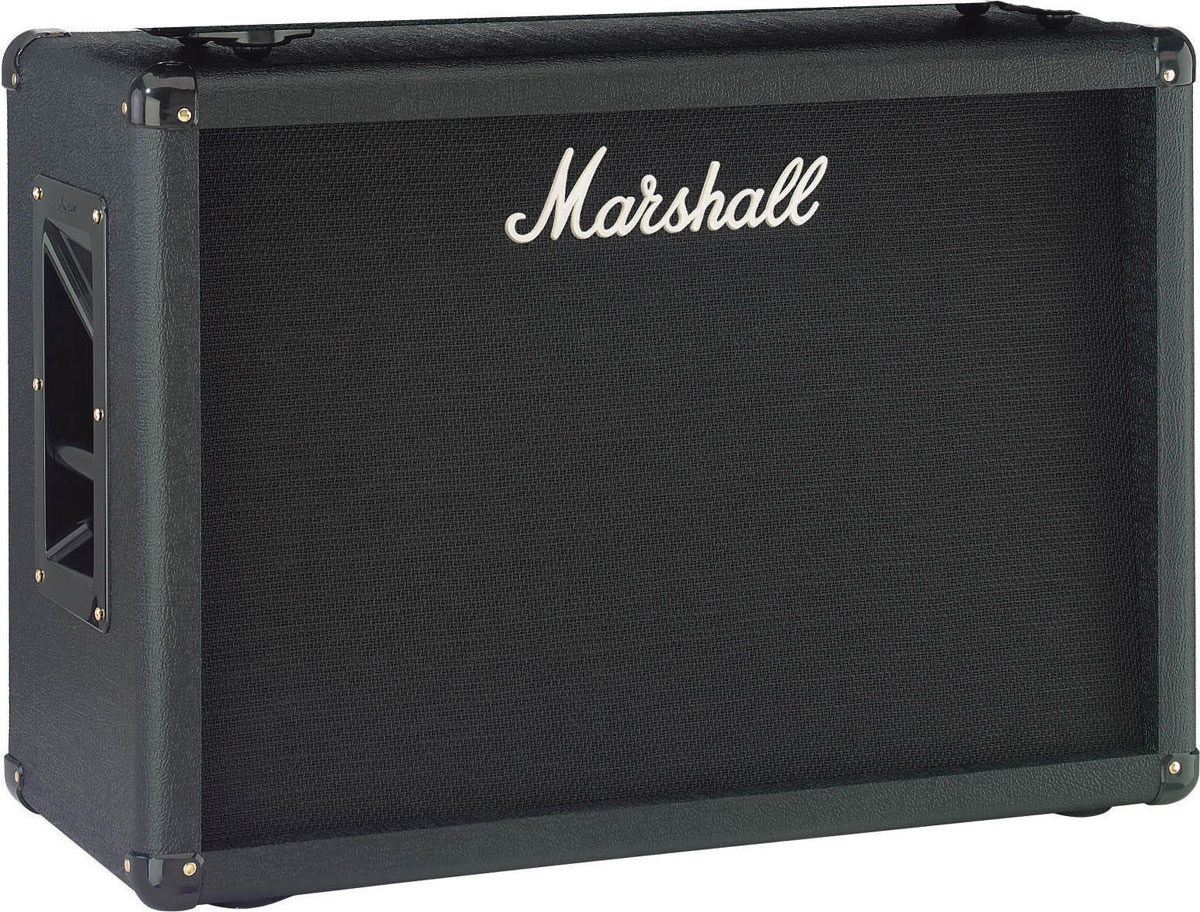 marshall m mc212 u 2 x 12 guitar speaker cabinet 130 watt with dual celestion speakers. Black Bedroom Furniture Sets. Home Design Ideas