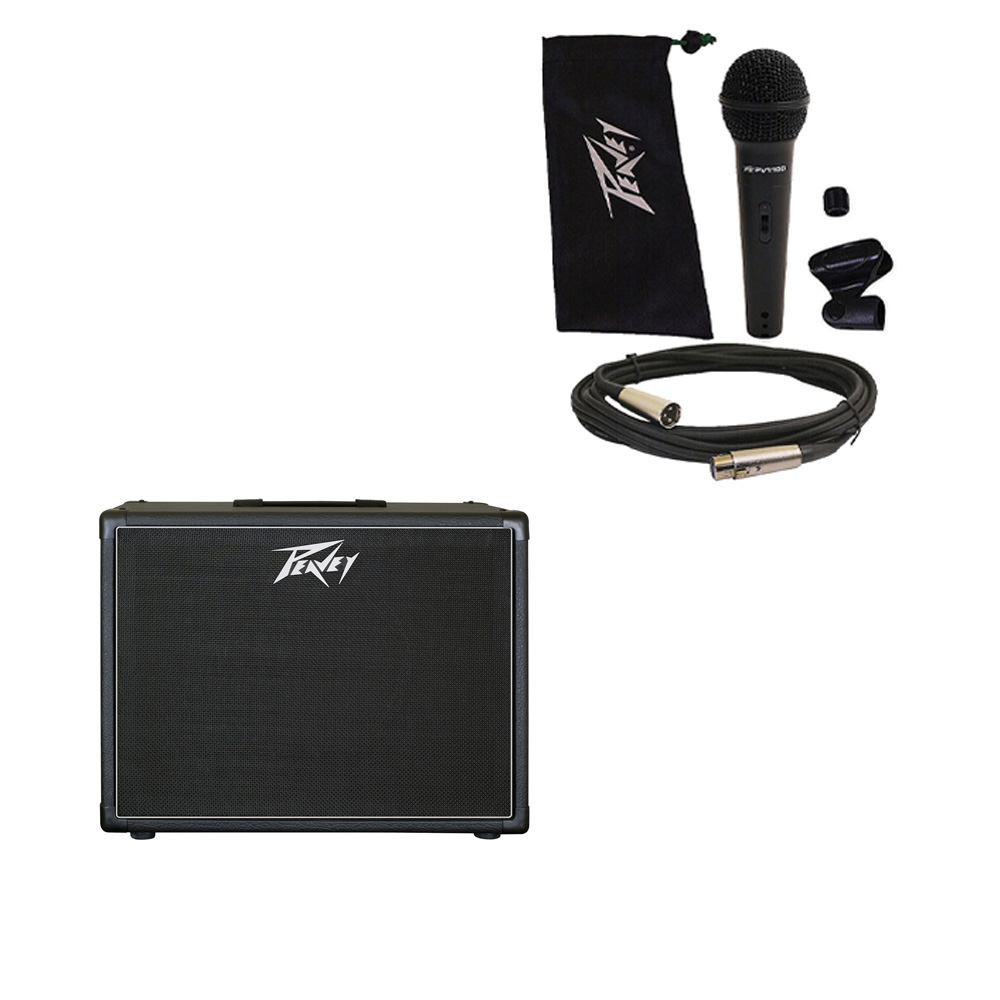 peavey classic 212 c electric guitar cab dual 12 speaker cabinet mic stand new pev16 package109. Black Bedroom Furniture Sets. Home Design Ideas