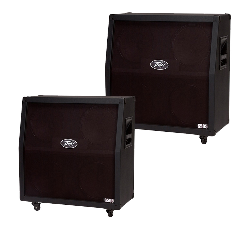 2 peavey 6505 412 slant electric guitar celestion vintage 4 12 speakers cab pev16 package79. Black Bedroom Furniture Sets. Home Design Ideas