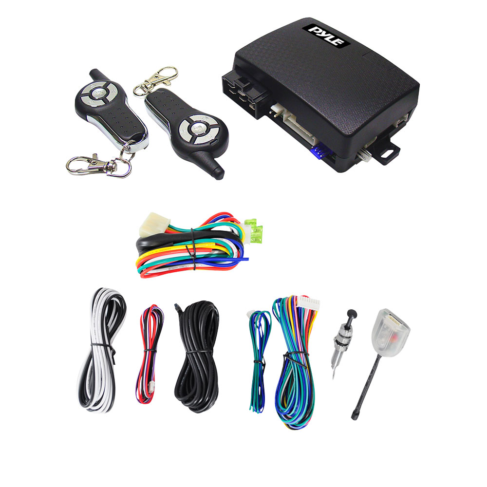 Pyle Car Audio PWD603RS 4-Button Remote Start/Door Lock Vehicle Security  System - PWD603RS | Pyle Keyless Entry System Wiring Diagram |  | HiFi Sound Connection