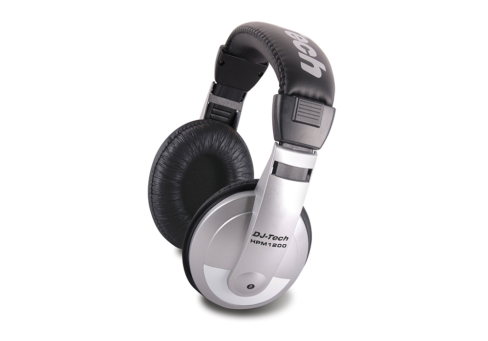 DJ Tech HPM 1200 Multi-Purpose Headphones with Ultra-wide Frequency Response