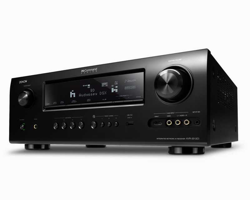 Denon Home Theater AVR3312CIP 7.2-Channel Integrated Network A/V Receiver (AVR-3312CI) - Limited Quanities!